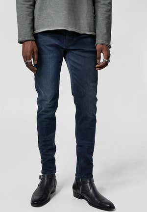 MORTY - Slim fit jeans - dark blue