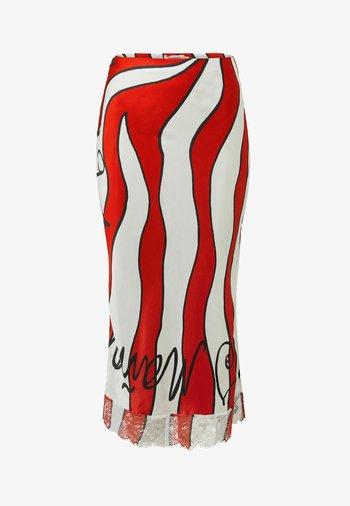 DESIGNED BY ESTEBAN CORTAZAR - Pencil skirt - white