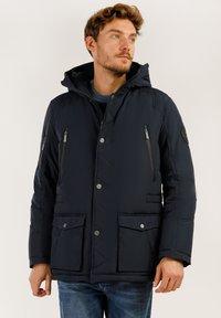 Finn Flare - MIT HOCHWERTIGER WATTIERUNG - Winter jacket - dark blue - 0