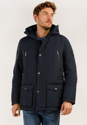 MIT HOCHWERTIGER WATTIERUNG - Winter jacket - dark blue