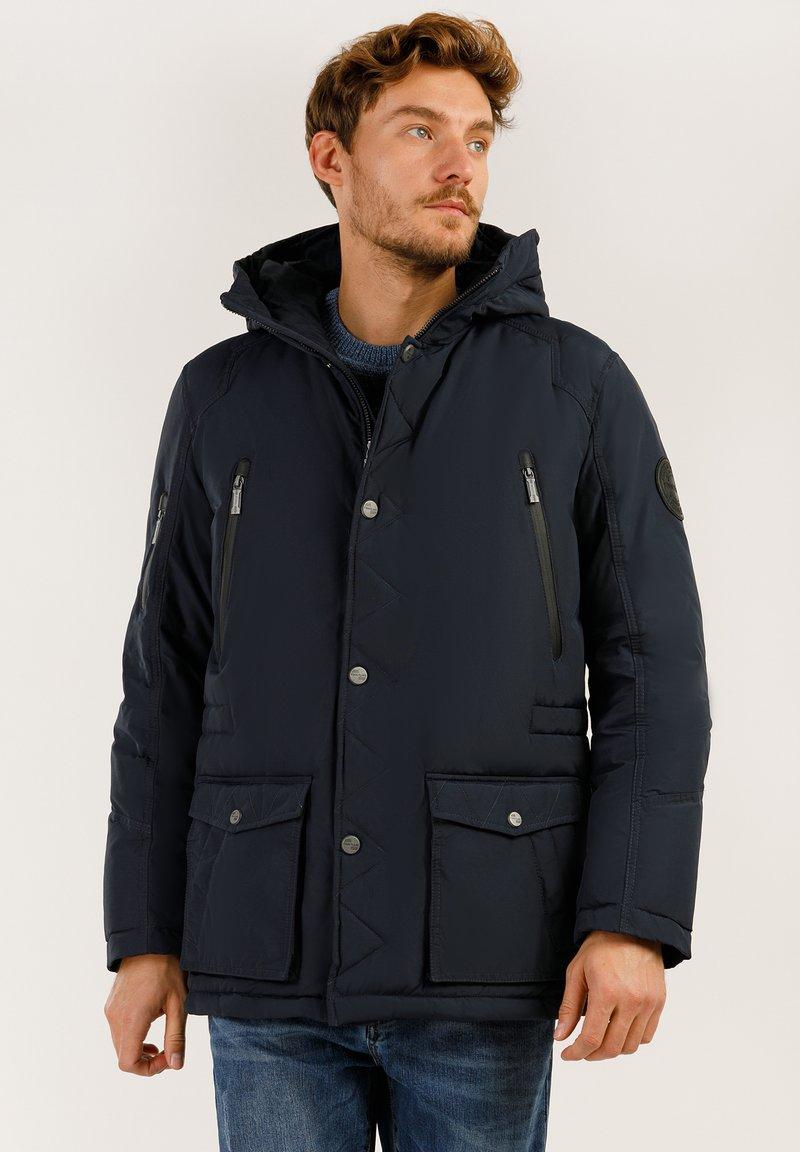 Finn Flare - MIT HOCHWERTIGER WATTIERUNG - Winter jacket - dark blue