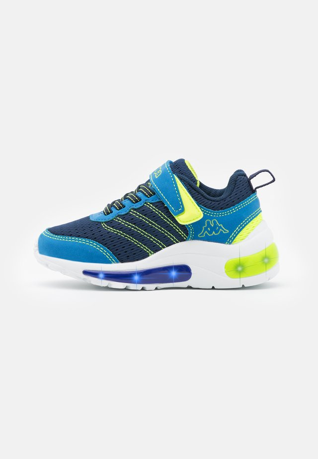 UNISEX - Sports shoes - navy/lime