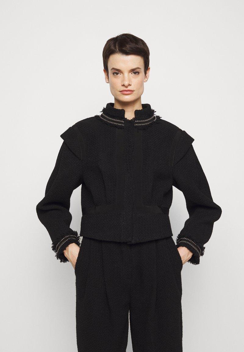 Alberta Ferretti - Summer jacket - black