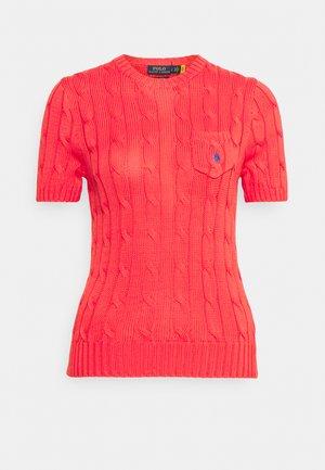 TEE SHORT SLEEVE  - Basic T-shirt - coral