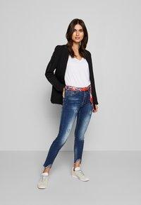 Desigual - RAINBOW - Slim fit jeans - denim dark blue - 1
