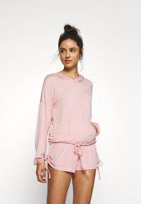 Marks & Spencer London - SHORT LOUNGE SHORT - Pyjamasbukse - pink - 1