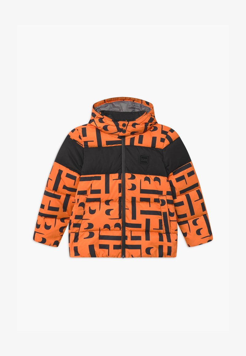 BOSS Kidswear - PUFFER - Zimní bunda - orange