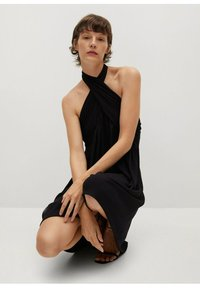 Mango - Vestito elegante - black - 5