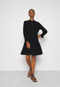 Selected Femme Tall - SLFLIVIA SHORT DRESS NOOS - Kjole - black - 1