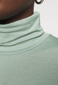 Gestuz - SIRIN ROLLNECK - Long sleeved top - slate gray - 5