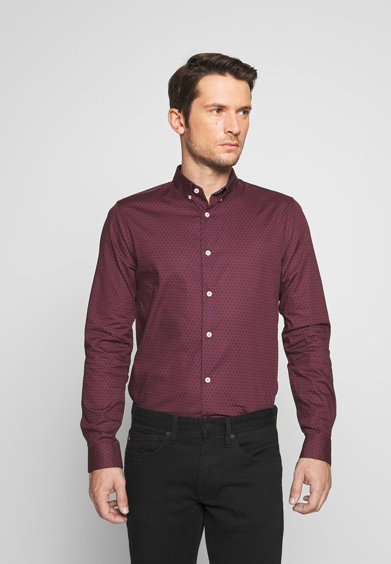 Burton Menswear London - ARIAL - Shirt - bordeaux