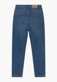 Lindex - MOM MADISON - Relaxed fit jeans - dark denim - 1