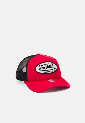 TRUCKER BASKETBALL UNISEX - Cap - red/black