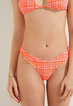 MADRAS - Bikinibukser - sweet coral/bianco