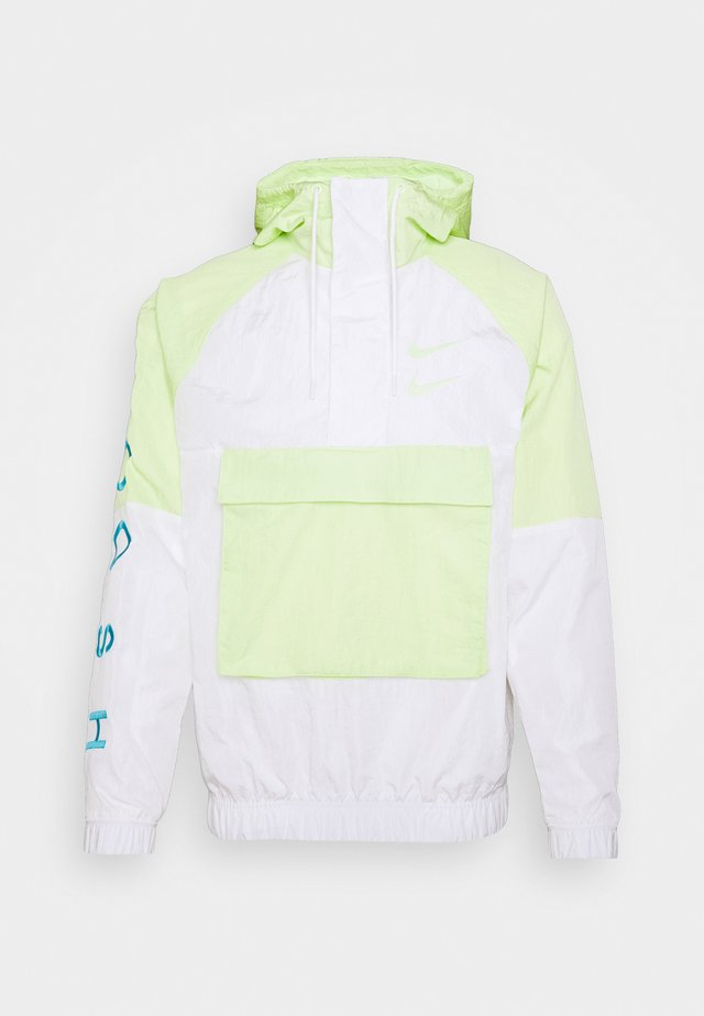 Windbreaker - barely volt/white/white/volt