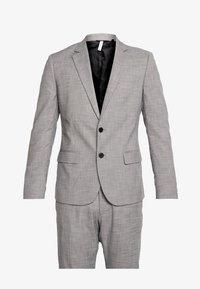 Antony Morato - SLIM JACKET BONNIE PANTS  - Oblek - grey melange - 9