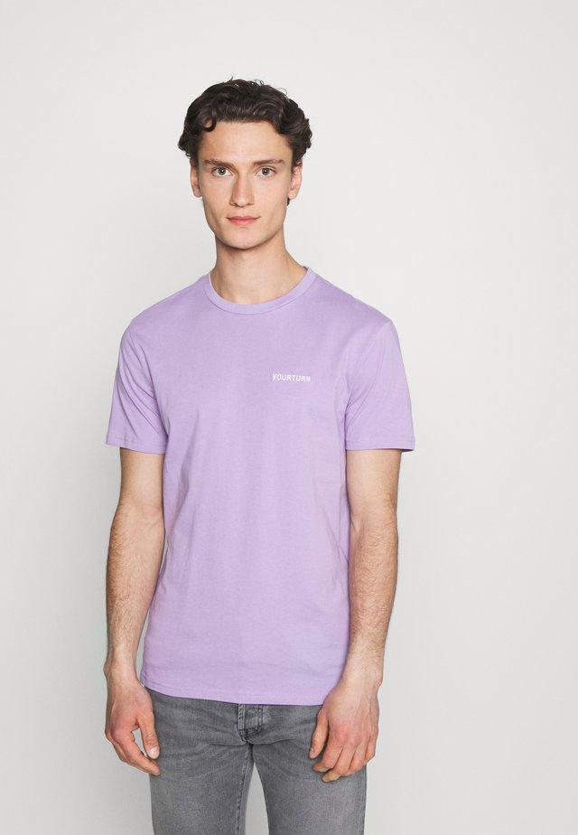 UNISEX - T-shirt - bas - lilac