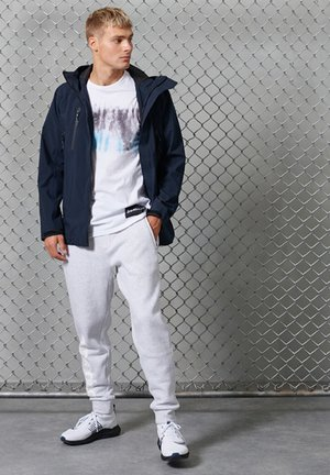 Tracksuit bottoms - ice marl