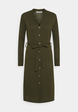 BUTTON THROUGH DRESS  - Jumper dress - khaki