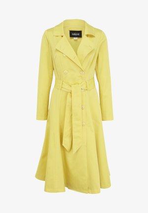 Trenchcoat - yellow
