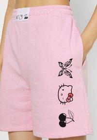 NEW girl ORDER - SLOGAN - Shorts - pink - 4