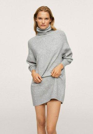 TALDORA - Jumper dress - grey