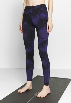 LEGGINGS TIE DYE  - Tights - dark blue
