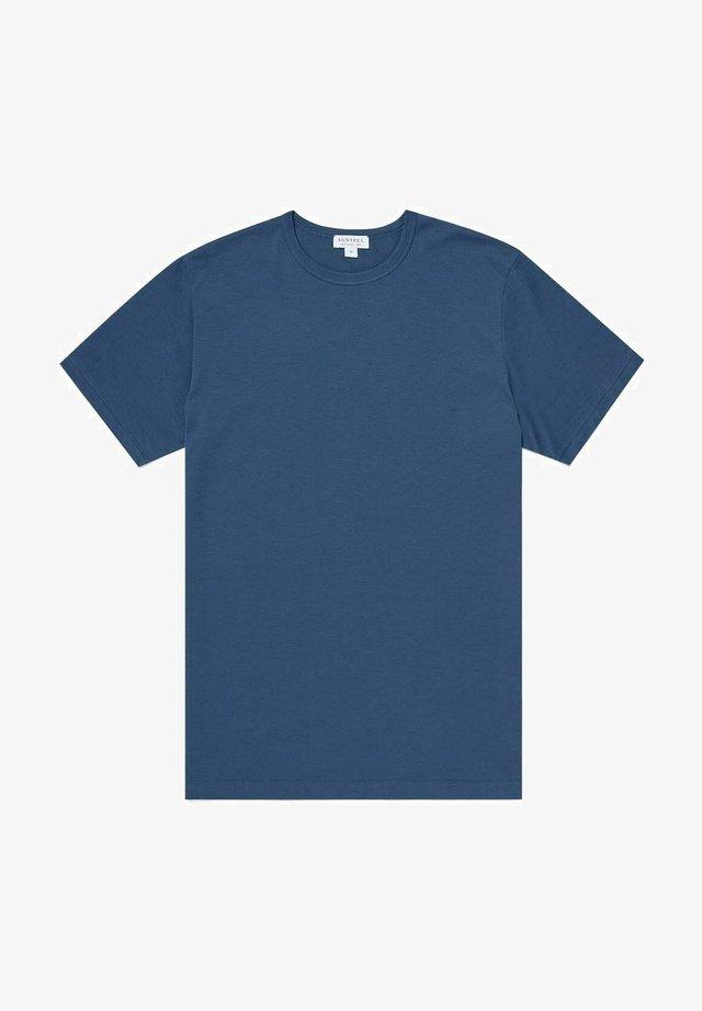 Basic T-shirt - smoke blue