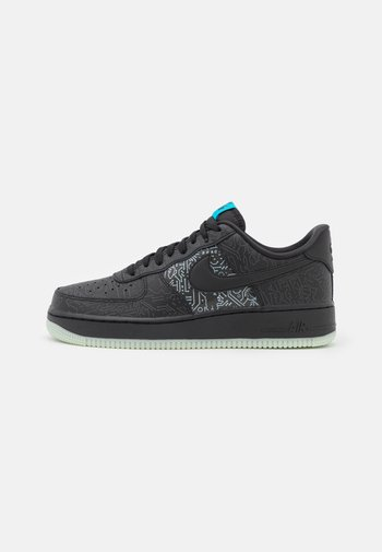 AIR FORCE 1 '07 - Sneakers basse - black/light blue fury