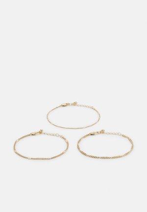 PCAHOLA BRACELETS 3 PACK - Rannekoru - gold-coloured