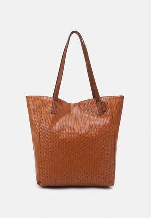 ARONA CROCHET - Handbag - cognac