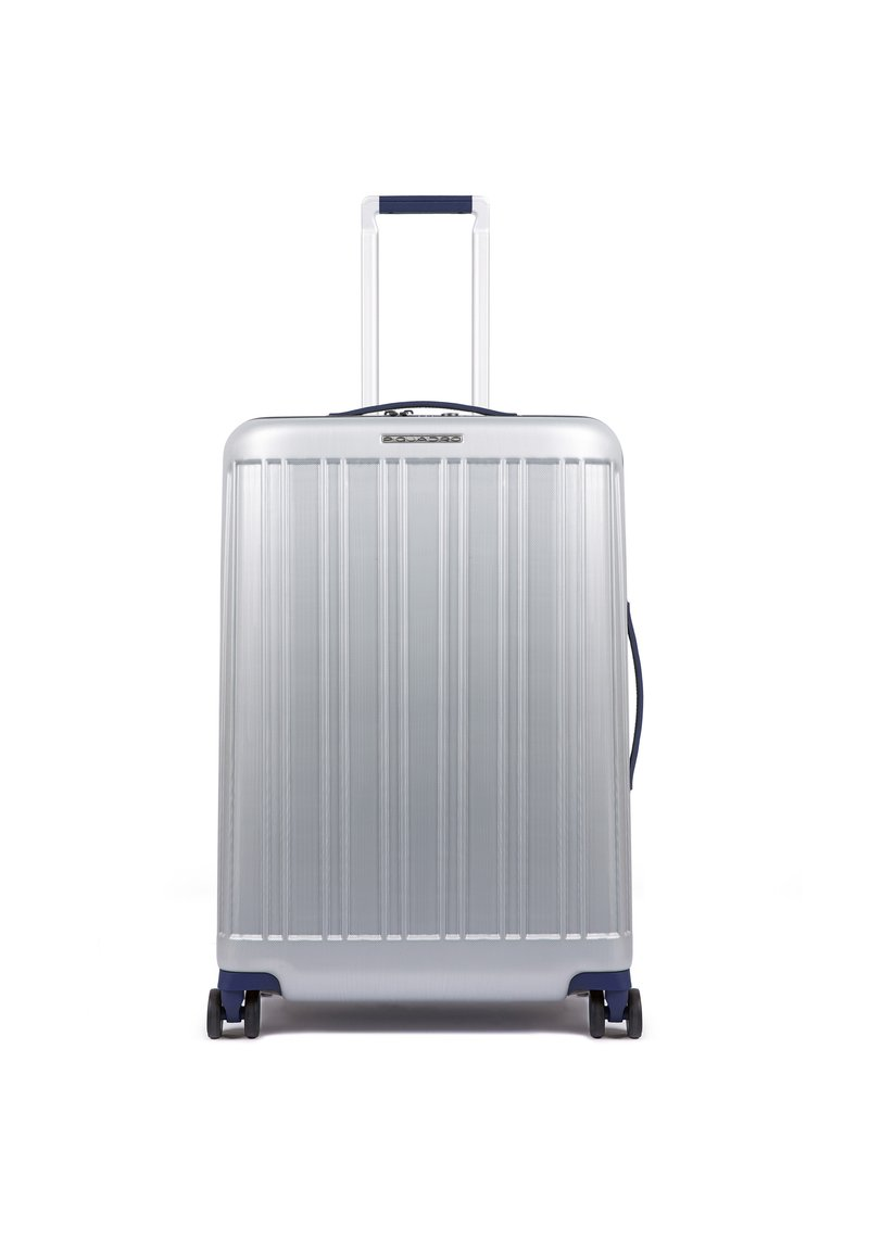 Piquadro - PIQUADRO RELYGHT PLUS 4-ROLLEN TROLLEY 67 CM - Wheeled suitcase - grey-blue
