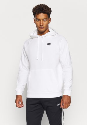 RIVAL HOODIE - Jersey con capucha - onyx white