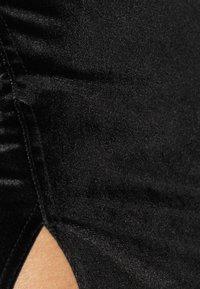 Glamorous - MIDI SKIRT WITH FRONT SIDE SPLIT - Pencil skirt - black - 3