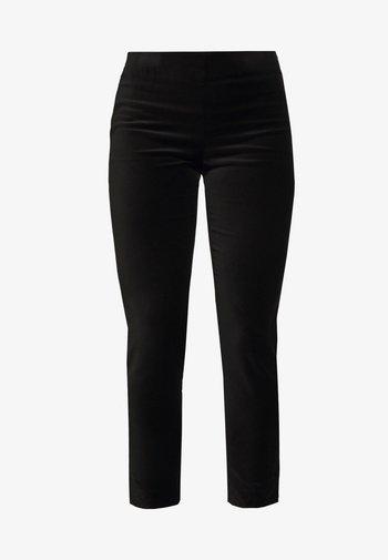 SOFT PANT - Kalhoty - polo black