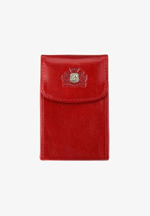 Business card holder - rot