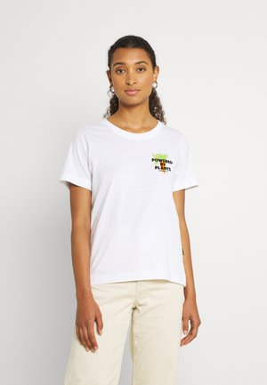 MYSEN PLANT POWER - T-shirts med print - white