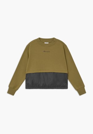 LEGACY BREAKING RULES CREWNECK - Collegepaita - khaki
