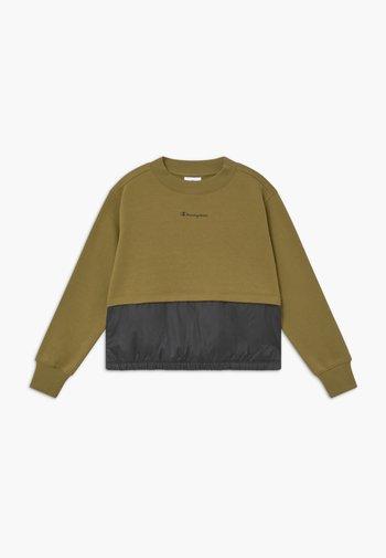 LEGACY BREAKING RULES CREWNECK - Sweatshirt - khaki