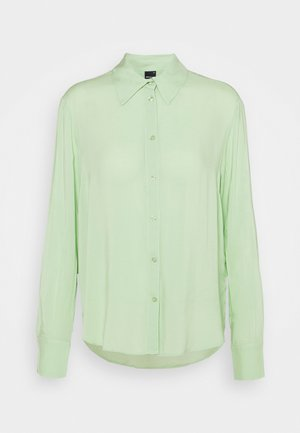 HILMA - Button-down blouse - nile green