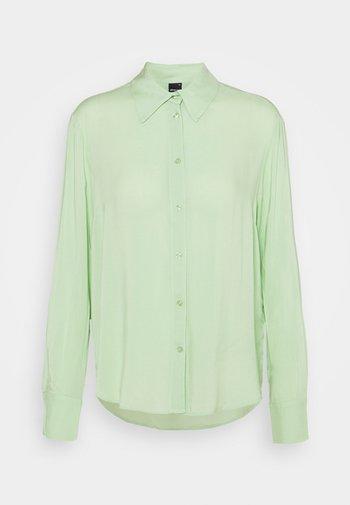 HILMA - Button-down blouse - nile green