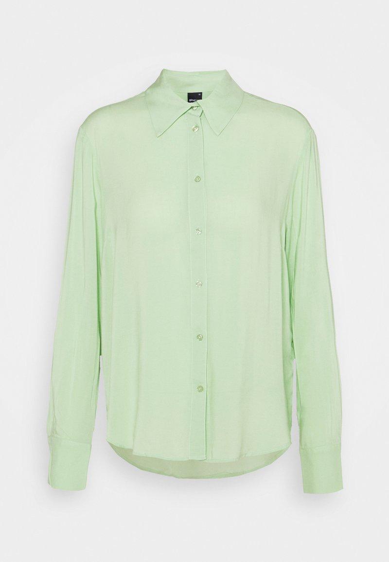 Gina Tricot - HILMA - Button-down blouse - nile green