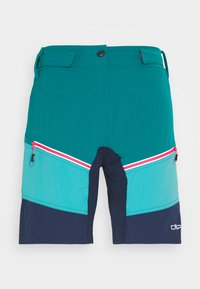 CMP - WOMAN FREE BIKE BERMUDA WITH INNER UNDERWEAR - Sports shorts - lake - 4