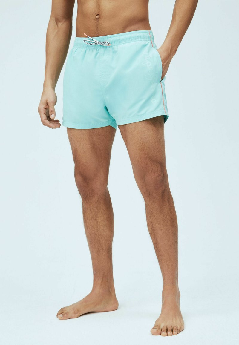 Pepe Jeans - NEW BRIAN - Swimming shorts - turquoise