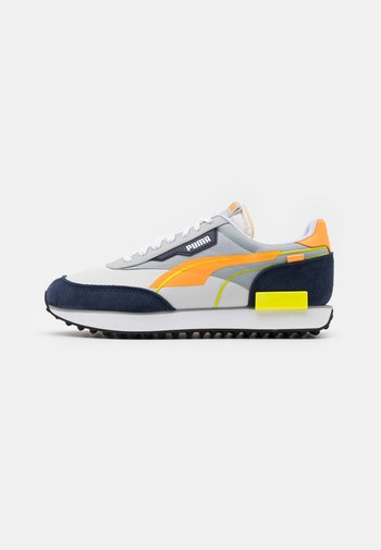 FUTURE RIDER TWOFOLD UNISEX - Sneakers - high rise/fluo orange