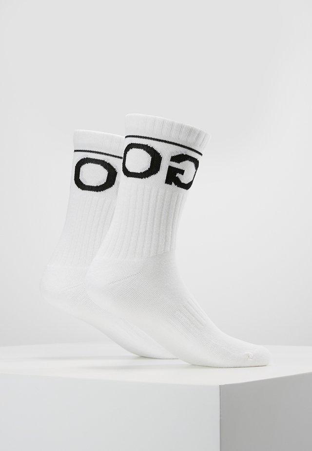 LOGO 2 PACK - Socks - white