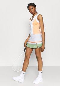 South Beach - TENNIS SKIRT - Sportovní sukně - white - 3