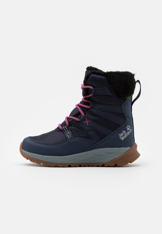 POLAR TEXAPORE HIGH UNISEX - Winter boots - dark blue/grey