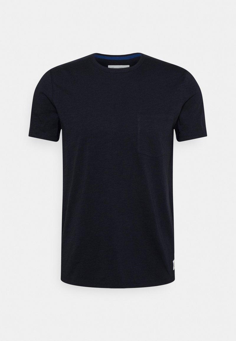 Marc O'Polo DENIM - Basic T-shirt - blue night sky