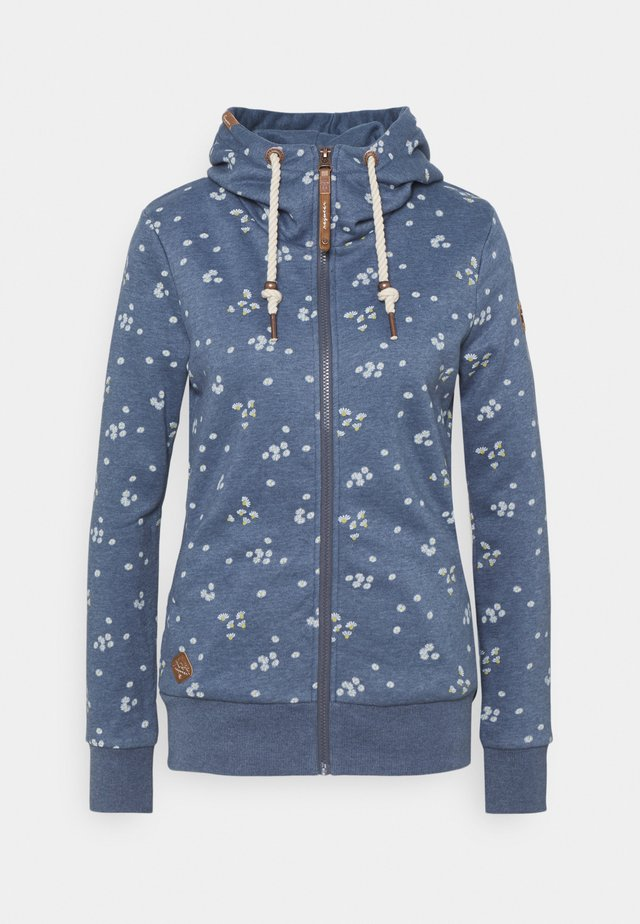 ZIP - veste en sweat zippée - indigo